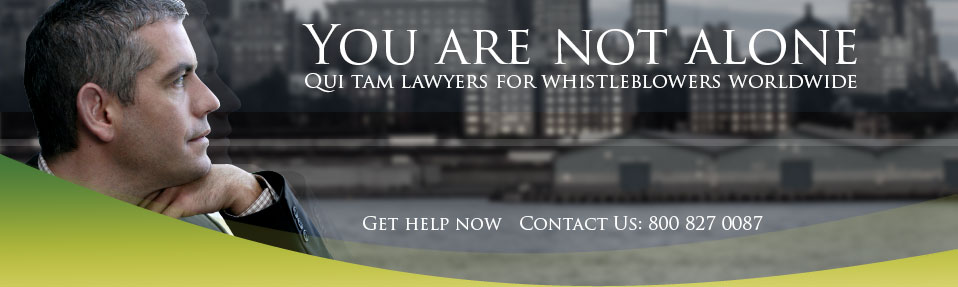 You are not alone.  Qui Tam lawyers for whistleblowers nationwide